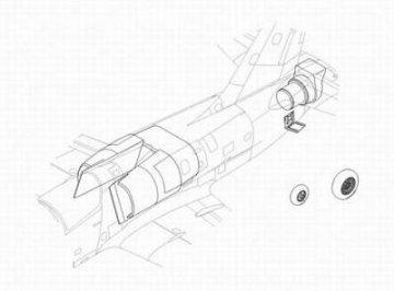 Albatros L-39C - Air Intake Set. · CMK 48084 ·  CMK · 1:48