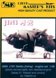 J1N Irving, - Motor set · CMK 48095 ·  CMK · 1:48