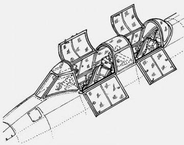 J1N Irving - Interior set · CMK 48096 ·  CMK · 1:48