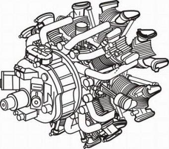 Nakajima Sakae - japanischer Motor · CMK 48097 ·  CMK · 1:48