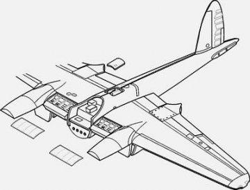 Mosquito Mk.IV/VI - Exterior Set · CMK 48106 ·  CMK · 1:48