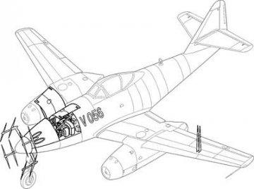 Messerschmitt Me 262 A-1a V056 - Umbauset · CMK 48111 ·  CMK · 1:48