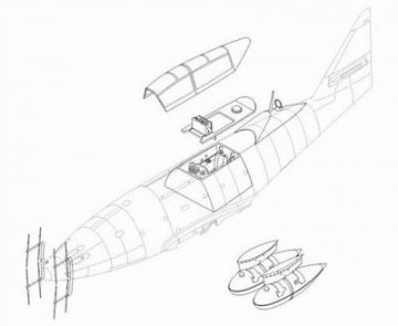 Messerschmitt Me 262 B-1a/U1 - Umbauset · CMK 48113 ·  CMK · 1:48