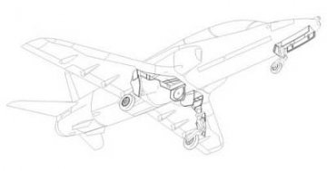 Hawk T.1 - Fahrwerksset · CMK 48143 ·  CMK · 1:48