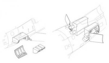 F-86 Sabre - Armament set · CMK 48146 ·  CMK · 1:48