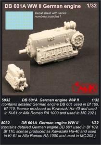 DB 601A - WWII German engine · CMK 5032 ·  CMK · 1:32