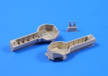 A6M5 Zero - Undercarriage bays set · CMK 5036 ·  CMK · 1:32
