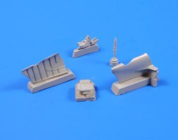 A6M2/A6M5 - Zero Tail cone · CMK 5039 ·  CMK · 1:32