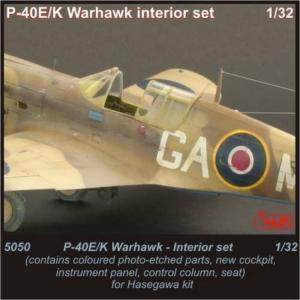 P-40E/K Warhawk - Interior set · CMK 5050 ·  CMK · 1:32