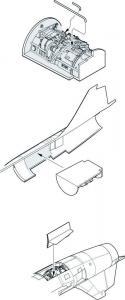 F-104G Starfighter - Engine set USA [Hasegawa] · CMK 5056 ·  CMK · 1:32