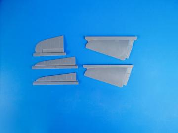 A6M5c Zero - Tail control surfaces · CMK 5115 ·  CMK · 1:32