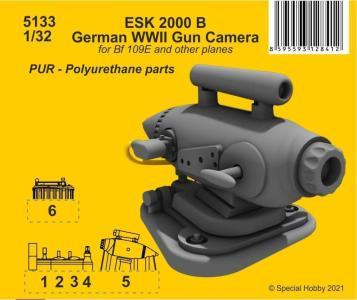 ESK 2000 B German WWII Gun Camera · CMK 5133 ·  CMK · 1:32