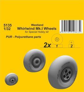 Westland Whirlwind Mk.I - Wheels · CMK 5135 ·  CMK · 1:32