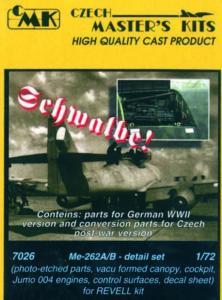 Messerschmitt Me 262 A/B - Detail set · CMK 7026 ·  CMK · 1:72