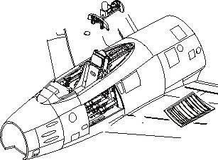 F-86F sabre - Interior set · CMK 7112 ·  CMK · 1:72