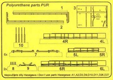 Lancaster Mk.I/III - Armament set [Hasegawa] · CMK 7121 ·  CMK · 1:72