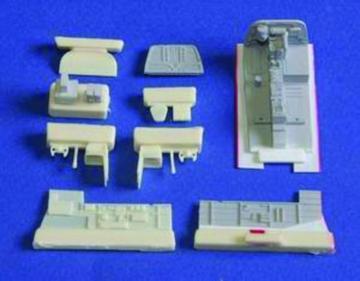 B-26K Invader - Interior set [Italeri] · CMK 7136 ·  CMK · 1:72