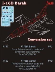 F-16D Barak [Academy] · CMK 7157 ·  CMK · 1:72