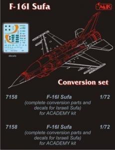 F-16D SUFA [Academy] · CMK 7158 ·  CMK · 1:72