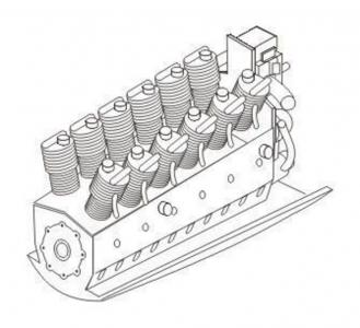 Argus Ar 410 - Engine · CMK 7165 ·  CMK · 1:72