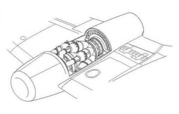 Rolls Royce Nene - British engine · CMK 7167 ·  CMK · 1:72