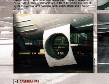 Canberra PR Mk.9 - Exterior set · CMK 7186 ·  CMK · 1:72