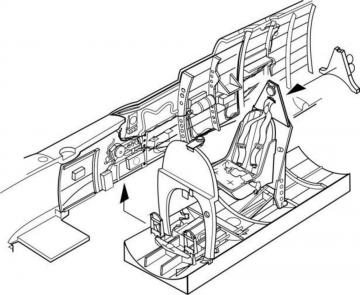 Spitfire Mk.IX - Interior s.GB WWII [Airfix] · CMK 7194 ·  CMK · 1:72