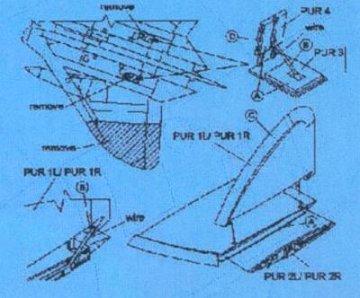 F4D-1 - Wing fold set · CMK 72027 ·  CMK · 1:72