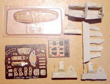 Messerschmitt Me 163S - Interior set · CMK 72040 ·  CMK · 1:72