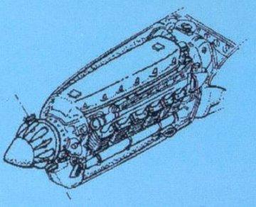 Focke-Wulf Fw 189 A - Motor Set · CMK 72044 ·  CMK · 1:72