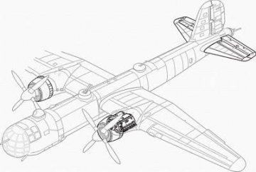 Heinkel He 177 A - Motor Set · CMK 72060 ·  CMK · 1:72