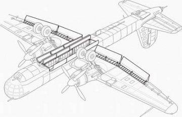 Heinkel He 177 A - Flaps, - Control surfaces, Bomb r. · CMK 72061 ·  CMK · 1:72