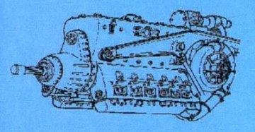 DB 603 German - Engine WW II · CMK 72066 ·  CMK · 1:72