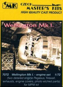 Wellington Mk.I - Motor Set [MPM] · CMK 72072 ·  CMK · 1:72