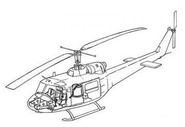 UH-1B - Interior set · CMK 72078 ·  CMK · 1:72