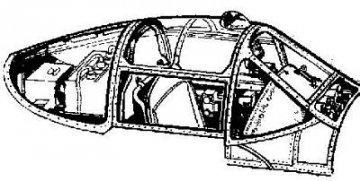 P-38J Lightning - Interior set · CMK 72091 ·  CMK · 1:72