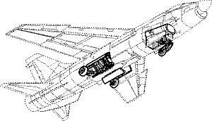F-8 Crusader - Fahrwerk Set · CMK 72096 ·  CMK · 1:72