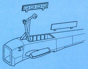 OV-10D Bronco - Fahrwerk Set · CMK 72101 ·  CMK · 1:72