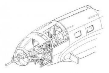 Heinkel He 111 - Interior · CMK 72102 ·  CMK · 1:72