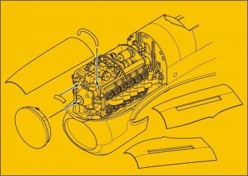 Typhoon Mk.I - Engine set · CMK 7295 ·  CMK · 1:72