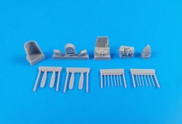 Short Tucano T1 - Engine set [Aifix] · CMK 7357 ·  CMK · 1:72