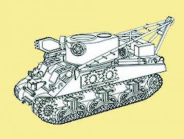 M32 Recovery Sherman - Umbauset [Tamiya] · CMK 8020 ·  CMK · 1:48