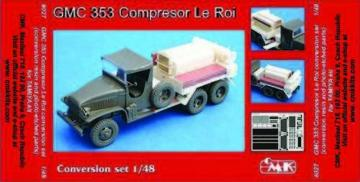 GMC 353 Compressor Le Roi - Conversion set · CMK 8027 ·  CMK · 1:48