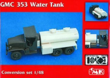 GMC 353 Water tank - Conversion set · CMK 8030 ·  CMK · 1:48