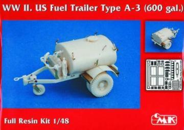 WW II. US Fuel Trailer Type A-3 (600 gal.) · CMK 8031 ·  CMK · 1:48