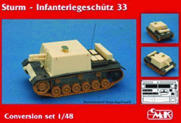 Sturm Infanteriegeschütz 33 - Conversation Set [Tamiya] · CMK 8034 ·  CMK · 1:48