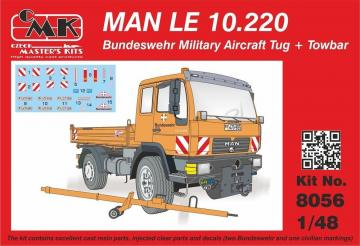 MAN LE 10.220 Bundeswehr Military Aircra Tug + Towbar · CMK 8056 ·  CMK · 1:48