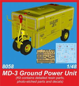 MD-3 Ground Power Unit · CMK 8058 ·  CMK · 1:48
