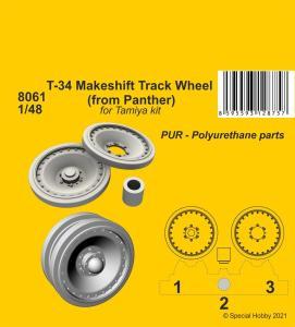 T-34 Makeshift Track Wheel (from Panther) · CMK 8061 ·  CMK · 1:48