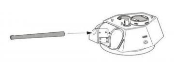 T-34/76 - Metal barrel · CMK B48072 ·  CMK · 1:48